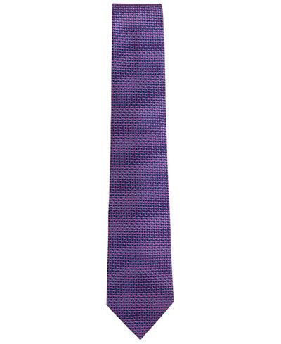 BOSS Men's Tailored Geometric Silk Tie
