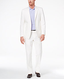 CLOSEOUT! Lauren Ralph Lauren Men's Slim-Fit Ultraflex White Solid Suit