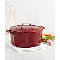 Deals on Martha Stewart Collectors Enameled Cast Iron 8Qt Round Oven