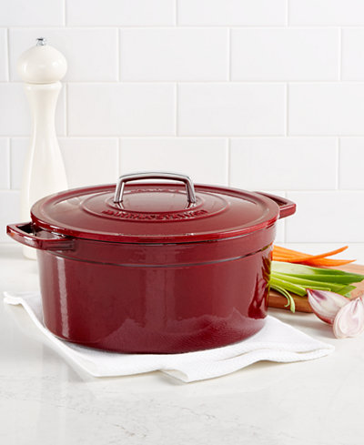 Martha Stewart Collection Collector's Enameled Cast Iron 8 ...