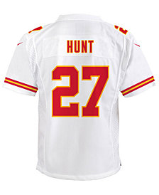 Nike Kareem Hunt Kansas City Chiefs Game Jersey, Big Boys (8-20)