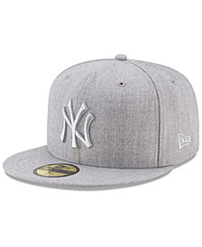 New Era New York Yankees Pure Silver 59FIFTY Fitted Cap