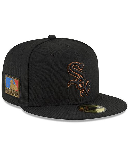 best service d5837 41fcb ... New Era Chicago White Sox Ultimate Patch Collection 125th Anniversary  59FIFTY Fitted Cap ...