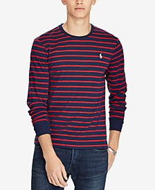 Polo Ralph Lauren Men's Custom Slim Fit Striped Long-Sleeve T-Shirt