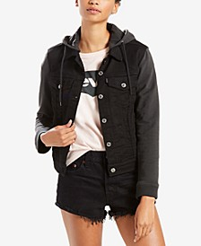 Women's Hybrid Trucker Jacket