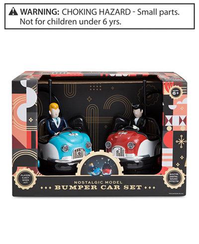 Fao Schwarz Remote Control Retro Bumper Cars Toys