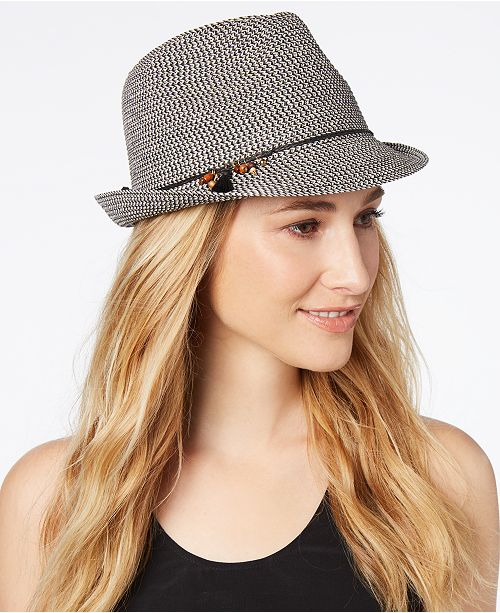 Nine West Charms Packable Fedora - Handbags   Accessories - Macy s cf5facd0451