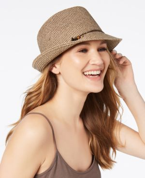 Nine West Charms Packable Fedora 5627722