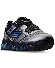 Skechers Little Boys' S Lights: Turbo-Flex Radex Light-Up Athletic Sneakers from Finish Line