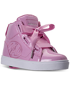 Heels Big Girls' FL High Skate Wheeled Casual Sneakers from Finish Line