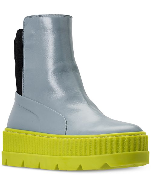 the best attitude 5a657 34281 Puma Women's Fenty x Rihanna Chelsea Sneaker Boot from ...