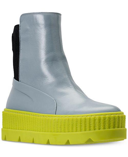 4371f9c9ed624f Puma Women s Fenty x Rihanna Chelsea Sneaker Boot from Finish Line ...