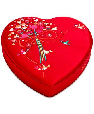 Godiva 37-Pc. Chocolates Fabric Heart Box