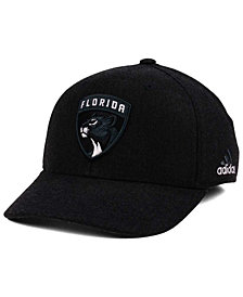 adidas Florida Panthers Black Tonal 873 Flex Cap