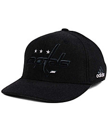 adidas Washington Capitals Black Tonal 873 Flex Cap