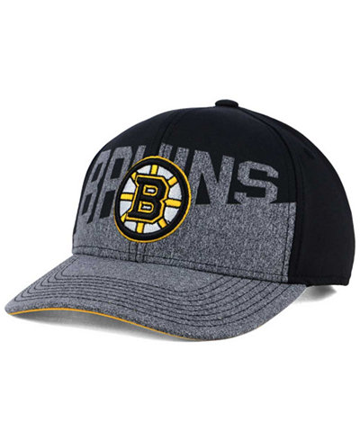 adidas Boston Bruins Slashing Adjustable Cap