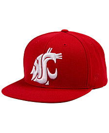 Top of the World Washington State Cougars Extra Logo Snapback Cap