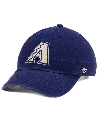 '47 Brand Arizona Diamondbacks Timber Blue CLEAN UP Cap