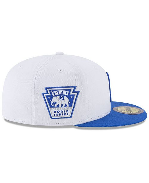 879915bcfae3c5 ... New Era Philadelphia Athletics Ultimate Patch Collection World Series  2.0 59Fifty Fitted Cap ...