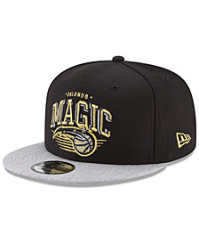 New Era Orlando Magic Gold Mark 9FIFTY Snapback Cap