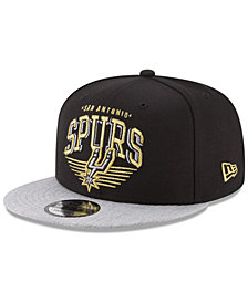 New Era San Antonio Spurs Gold Mark 9FIFTY Snapback Cap
