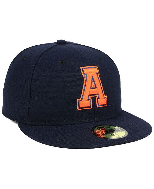 release date: 2a449 f1186 ... New Era Auburn Tigers Vault 59FIFTY Fitted Cap ...