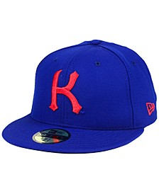 Kansas Jayhawks Vault 59FIFTY Fitted Cap