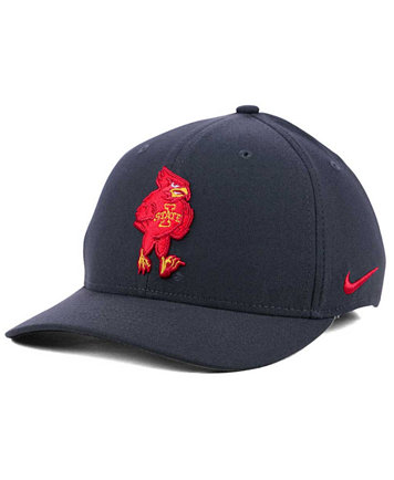 Nike Iowa State Cyclones Anthracite Classic Swoosh Cap - Sports Fan ... 92a5db73f94d