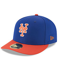 New Era New York Mets Low Profile Batting Practice Pro Lite 59FIFTY Fitted Cap