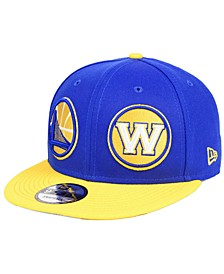 Golden State Warriors Double Whammy 9FIFTY Snapback Cap