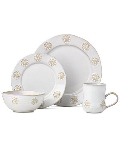 Crafted by Wainwright Boho Garden 4-Piece Place Setting, Created for Macy's