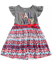 Epic Threads Sail Away Dress, Little Girls, Created for Macy's