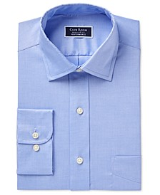 Men's Classic/Regular Performance Pinpoint Dress Shirt, Created for Macy's