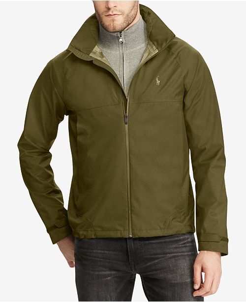 ba348cb77 Polo Ralph Lauren Men s Waterproof Jacket   Reviews - Coats ...