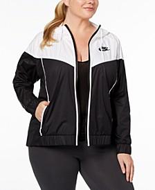 Plus Size Sportswear Windrunner Jacket