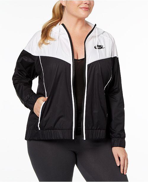 9277462e793 Nike Plus Size Sportswear Windrunner Jacket   Reviews - Jackets ...