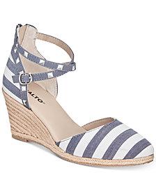 Rialto Campari Espadrille Wedge Sandals