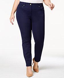 MICHAEL Michael Kors Plus Size Twill Skinny Jeans