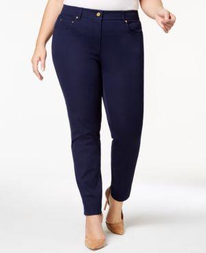 Michael Michael Kors Plus Size Twill Skinny Jeans 5470009