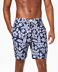 "Trunks Surf & Swim Co. Men's Swami Kali Printed 8.5"" Swim Trunks"