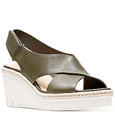 Clarks Artisan Women's Palm Glow Wedge Sandals