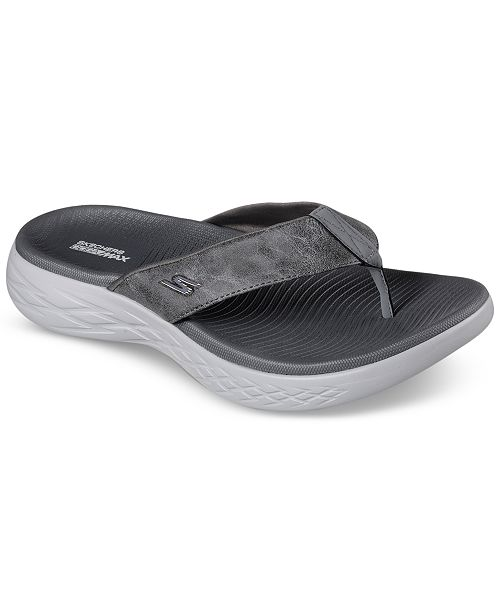 8494646fdc33 ... Skechers Men s On The Go 600 - Seaport Athletic Flip-Flop Thong Sandals  from Finish ...