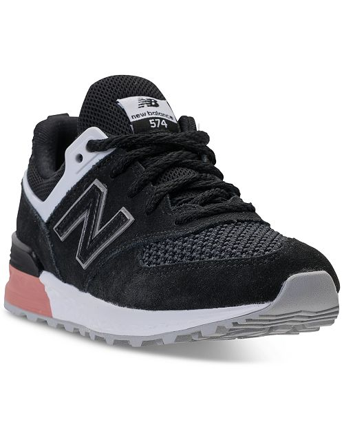 huge selection of 77f8c dc1dd ... New Balance Boys  574 Sport Casual Sneakers from Finish ...