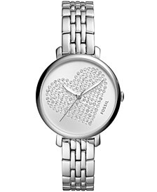 Fossil Women's Jacqueline Stainless Steel Bracelet Watch 36mm