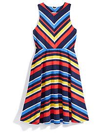 Nowadays x Bailee Madison Striped Knit Dress, Big Girls & Juniors