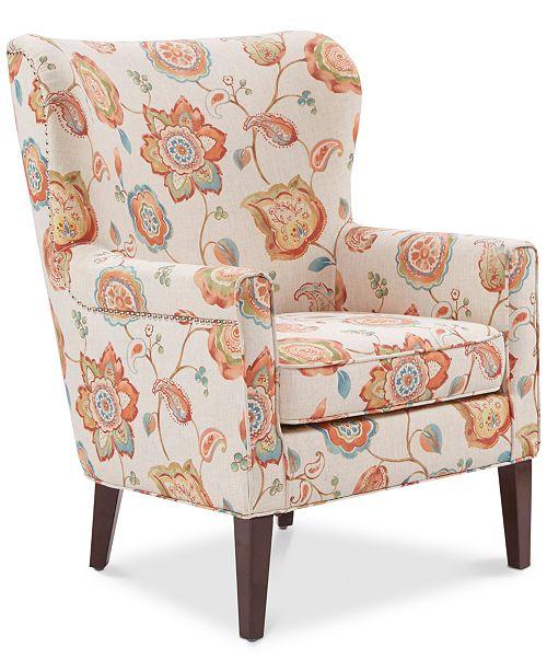 Furniture Dana Accent Chair, Quick Ship