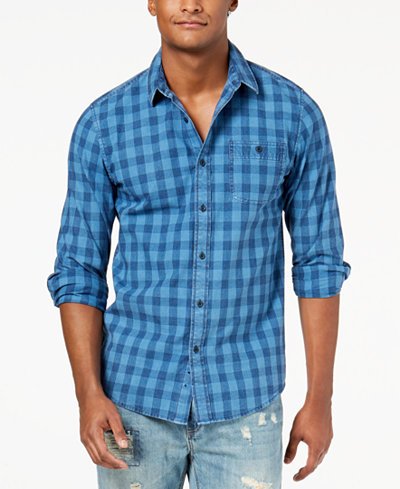 American Rag Men's Blake Check Shirt, Created for Macy's