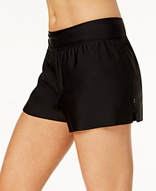 Reebok Solid Swim Shorts, Created for Macy's