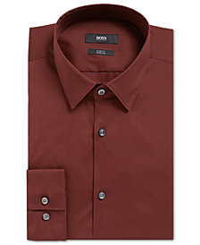 BOSS Men's Slim-Fit Stretch Dress Shirt