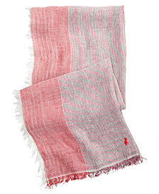 Polo Ralph Lauren Men's Wide Striped Scarf